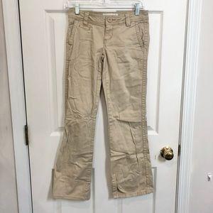 Aeropostale Stretch 0 Short Khaki Pants